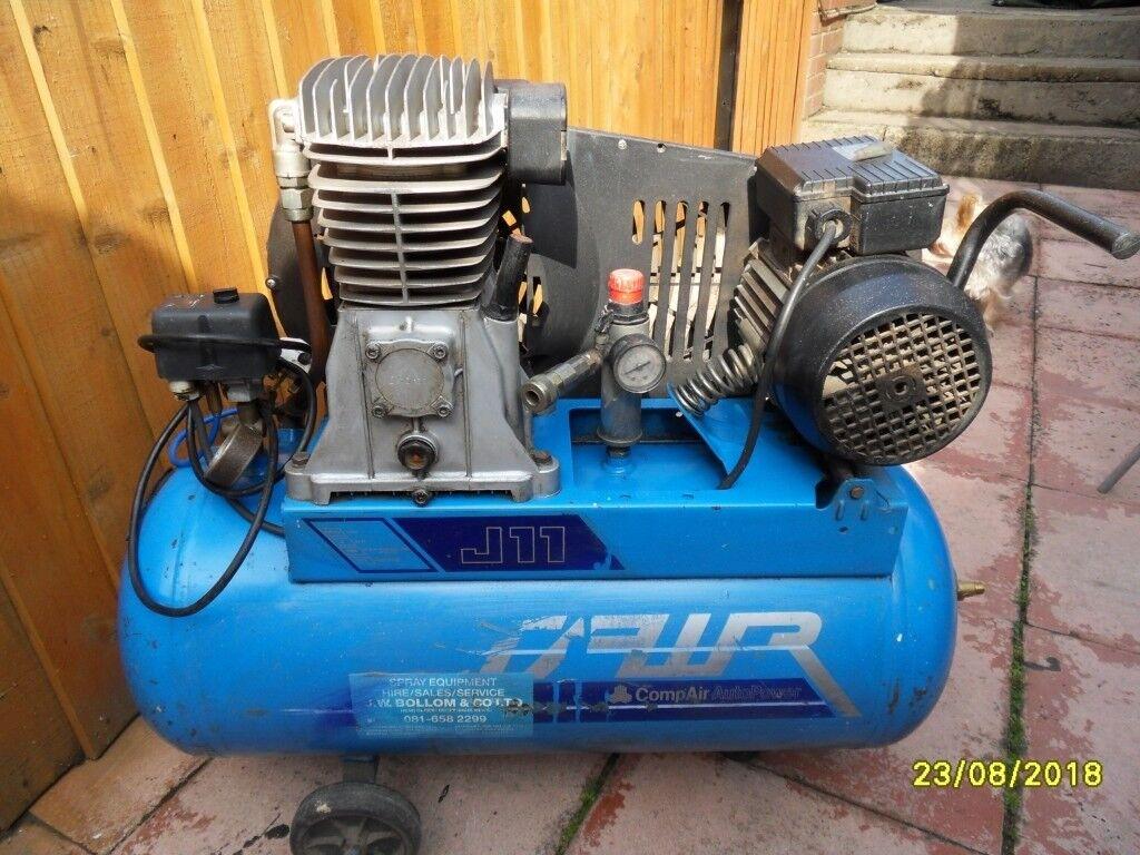 a good quiet air compressor 2 2 kw motor  14 cfm | in Bulwell,  Nottinghamshire | Gumtree