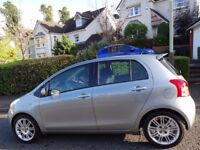 (2008) TOYOTA YARIS 1.3 SR 5dr ONLY 47K MILES/FSH/BUILT-IN COLOUR SAT-NAV/FREE DELIVERY/MOT/TAX/FUEL