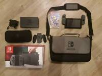Nintendo Switch + origional packaging and components + carrying case + Lego City Undercover game.
