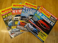 Autocar Magazines Collection 2014 - 52 Issues inc. Aston Martin, Ferrari, Etc.