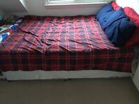 Excellent condition double divan bed