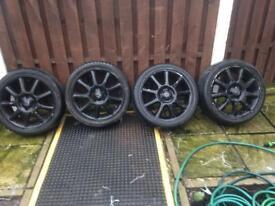 4x Corsa alloys for sale