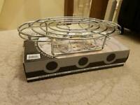 Oval Chrome Food Warmer
