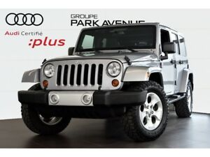 2013 Jeep WRANGLER UNLIMITED SAHARA ! NOUVEL ARRIVAGE !