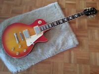Epiphone Gibson Les Paul Model Cherry Sunburst 89 OR SWAP for SAXOPHONE or BASS Combo or your OFFER.