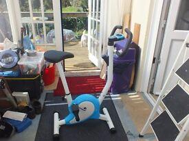 EXERCISE BIKE NEARLY NEW