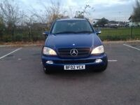 Mercedes ML 2.7 diesel full leathers full service history 7 Seater quick sale AVAILABLE