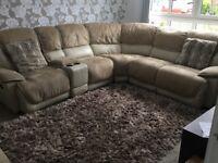 Beautiful Corner sofa suite + 2 Seater sofa
