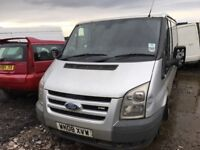 Ford transit spare parts available bumper bonnet wing light radiator doors wheels