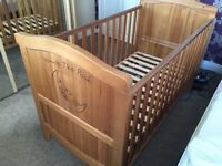 Solid Mamas & Papas Cot Bed - Excellent Condition -
