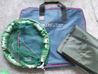 Mitchell Fishing Rod/Reel, Shakespeare Bag and Landing Net