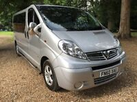 VAUXHALL VIVARO LWB 9 SEATER MINIBUS THE BEST YOU'LL FIND