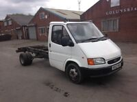 FORD TRANSIT CHASSIS CAB ~ SMILEY ~ 2.5 LITRE BANANA ENGINE!