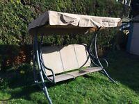 Garden Swing Seat - 3 seats