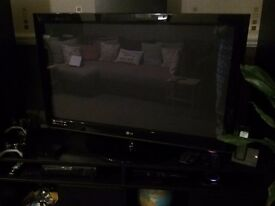 42 inch LG - HD ready with built in freeview