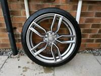 """2 x Audi 18"""" S3 SM Style Alloy Wheels (A3 A4 A6 TT) PCD: 5x112 - £90 per Wheel"""