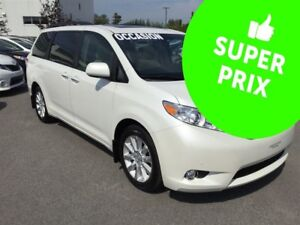 2012 Toyota Sienna Limited AWD GPS+DVD+JBL+Cuir+Toit Panoramique