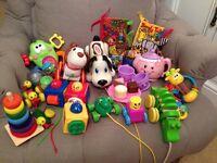 Bundle of pre- school toys