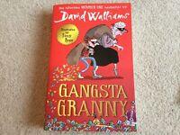 David Walliams Gangsta Granny paperback book NEW