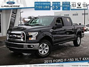 2015 Ford F-150 **XLT*4X4*6 PASSAGERS*CRUISE*A/C**