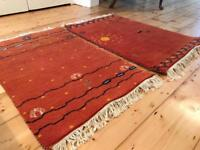 Pair of small rugs