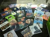 50 vinyls,Johnny Cash, sinatra,spinners,bill Hayley, denver lots c pics