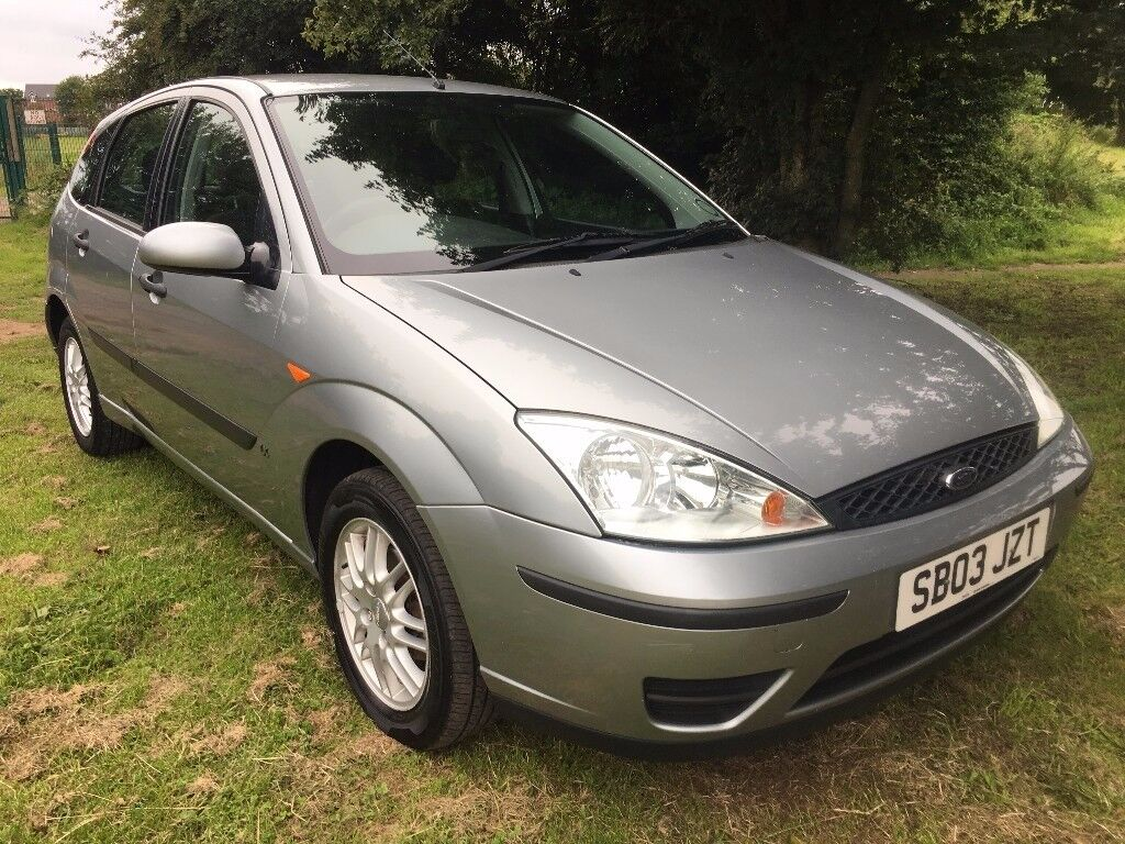 2003 ford focus 1 6 lx 5 dr hatchback new m o t on sale low mileage