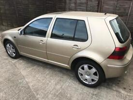 Breaking for parts la1w gold golf mk4 5dr doors bonnet smooth bumpers tailgate lamps wings modified