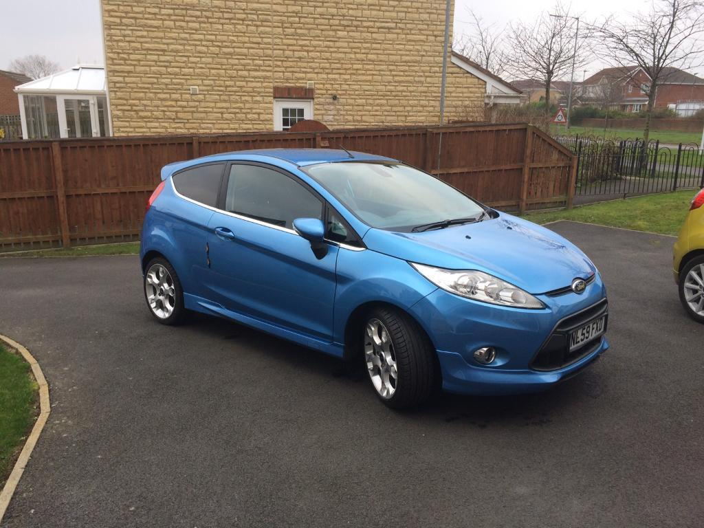 ford fiesta 1 6 titanium with x pack 2009 59 plate in blyth northumberland gumtree. Black Bedroom Furniture Sets. Home Design Ideas