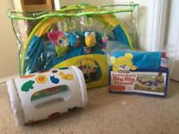 Baby toys good condition now reduced