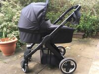 Oyster travel system incl carrycot and pushchair