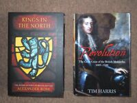 As new History Books, Kings in the North & Revolution 1685 - 1720