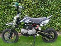 stomp 125 cc pit bike