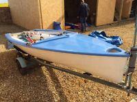 Lark 2152 sailing dinghy