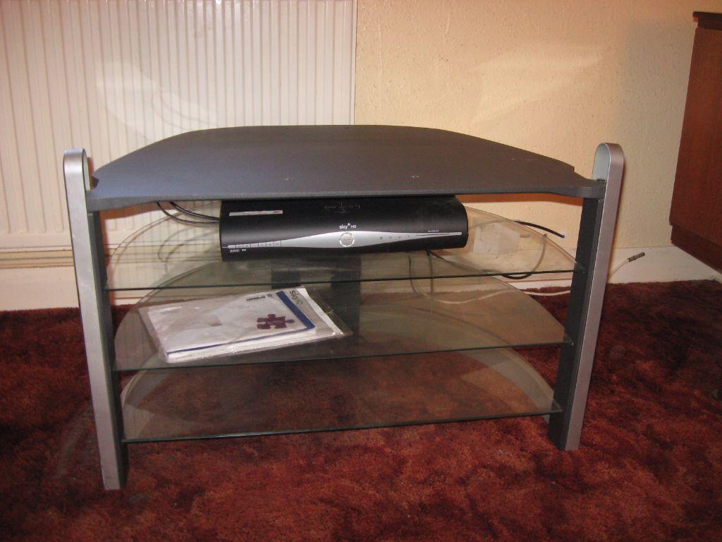 Table Top Dishwasher Wiltshire : GLASS TV TABLE in Melksham, Wiltshire Gumtree