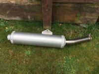YAMAHA R6 YZF MOTORBIKE MOTORCYCLE REAR EXHAUST SILENCER CAN MUFFLER £30