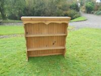 Heavy Pine Wall Dresser