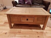 Bargain new coffee table
