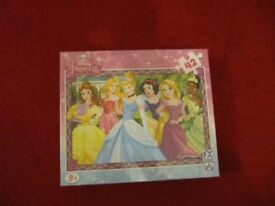 Disney Princess puzzle 42 pieces ideal present only two pounds and fifty pence ono