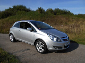 image for VAUXHALL CORSA 1.2 SXI HATCHBACK 3 DOOR SILVER 2009 FULL MOT BARGAIN ONLY £1495 *LOOK* PX/DELIVERY