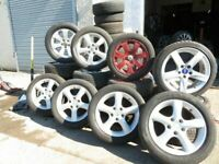 OPN 7DAYS 6PM OVR 300O TYRES UNDER 1 ROOF PW & NEW MOSTLY MATCHING PAIRS AND SETS & ALLOYS MOST CARS