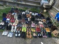 Joblot 80 pairs used shoes mixed shoes and sizes £45