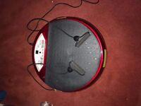 Vibroplate fitness vibrating machine
