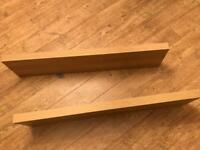 Pair of Lack Floating Shelves Ikea