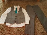 Boys Grey Suit Age 4