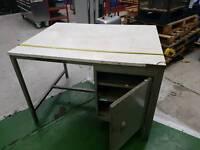 Metal desk suit workshop or garage
