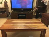 Beautiful Solid Oak coffee Table