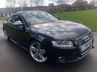AUDI S5 4.4 V8 2008 TOP SPEC FULL AUDI SERVICE HISTORY JUST SERVICED BY AUDI NAV PANORAMIC SUNROOF