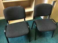 Office waiting room chairs X 12