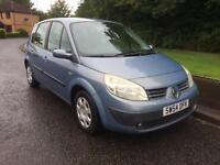 RENAULT MEGANE SCENIC 1.5 DIESEL ,MOT 1 FEB 18 , EXCELLENT LOOKING AND DRIVING